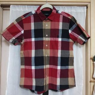 ブラックレーベルクレストブリッジ(BLACK LABEL CRESTBRIDGE)の専用 ブラックレーベル クレストブリッジ チェック 半袖シャツ Lサイズ(シャツ)