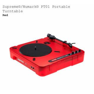 シュプリーム(Supreme)の20SS Supreme Numark portable turntable(ターンテーブル)
