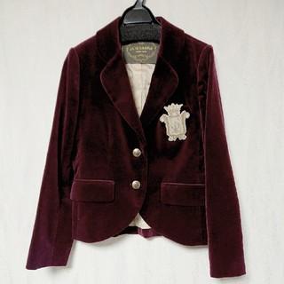 ジェーンマープル(JaneMarple)のJaneMarple コットンベルベットのジャケット(テーラードジャケット)