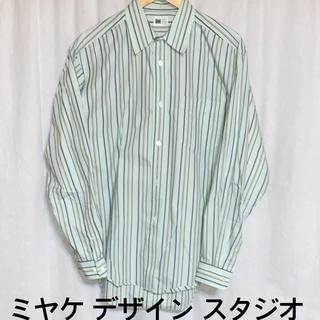 イッセイミヤケ(ISSEY MIYAKE)のMIYAKE DESIGN STUDIO イッセイミヤケ ストライプシャツ(シャツ)