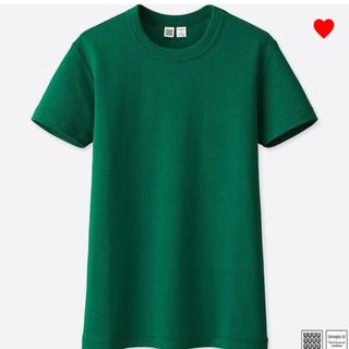 ユニクロ(UNIQLO)のUNIQLO U ベーシックTシャツXL 新品タグ付き(Tシャツ(半袖/袖なし))