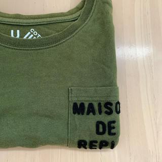 レピピアルマリオ(repipi armario)のrepipi カーキTシャツ xs(Tシャツ(長袖/七分))