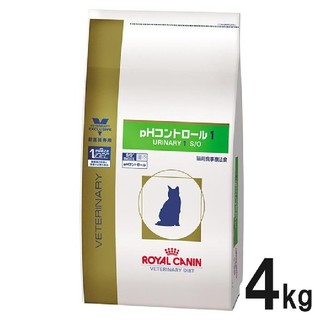 ロイヤルカナン(ROYAL CANIN)のロイヤルカナン phコントロール1 4kg 猫(ペットフード)