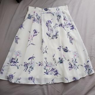 プロポーションボディドレッシング(PROPORTION BODY DRESSING)の花柄 フレアスカート 膝丈(ひざ丈スカート)