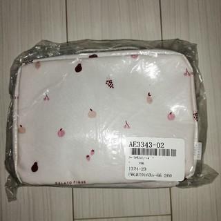 gelato pique - ジェラートピケ フルーツ柄おむつポーチ