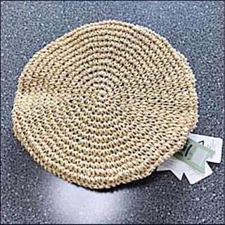 ザラ(ZARA)のベレー帽☆新品☆これからの季節にぴったり♪(*´꒳`*)(ハンチング/ベレー帽)