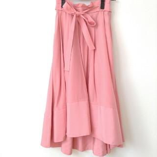 ラグナムーン(LagunaMoon)のサクラいろスカート(ロングスカート)