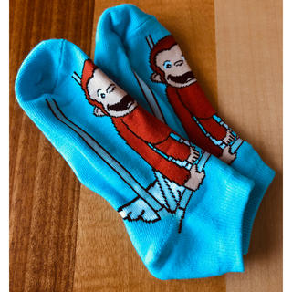 コストコ - 未使用 コストコ  おさるのジョージ 靴下