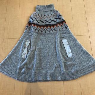 サカイラック(sacai luck)の新品 未使用  Sacai luck ポンチョ セーター(ポンチョ)