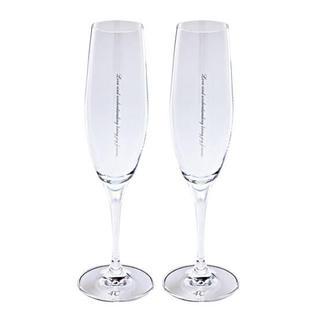 ヨンドシー(4℃)の4°c ペアフルートグラス シャンパングラス(グラス/カップ)