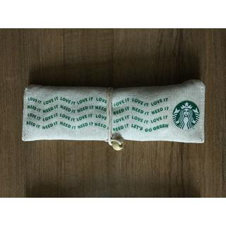 スターバックスコーヒー(Starbucks Coffee)のスタバ 海外 ペンケース・メイク入れ等 ポーチ (カトラリー無し)(日用品/生活雑貨)