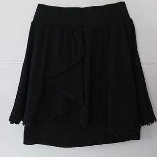 アナスイ(ANNA SUI)のアナスイ ブラックスカート(ミニスカート)