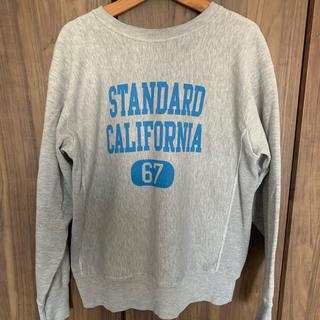 STANDARD CALIFORNIA - 【スウェット】スタンダードカリフォルニア チャンピオン リバースウィーブ