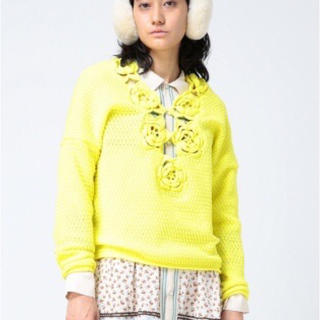 ビームスボーイ(BEAMS BOY)のmaturely Elastic Crochet Knit(ニット/セーター)