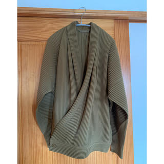 イッセイミヤケ(ISSEY MIYAKE)のhomme plisse 20ss 作務衣ジャケット(テーラードジャケット)