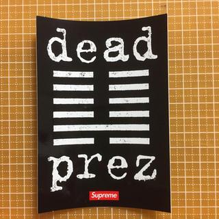 シュプリーム(Supreme)の▷supreme ステッカー dead prez(その他)