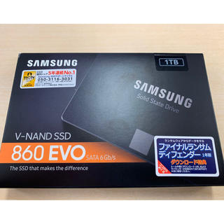 "SAMSUNG - Samsung 860 EVO 1TB SATA 2.5"" 内蔵 SSD"