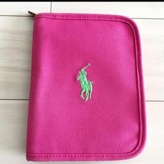 ラルフローレン(Ralph Lauren)の美品 ラルフローレン 母子手帳ケース カバー(母子手帳ケース)