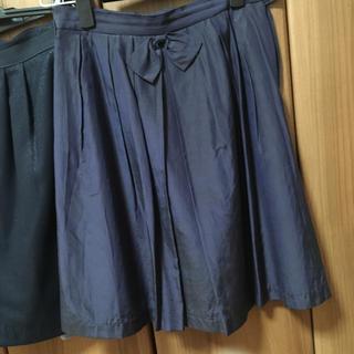 イプダ(epuda)のイプダ シルク混スカート 婚活服に(ひざ丈スカート)
