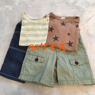 プティマイン(petit main)の90サイズ夏(Tシャツ/カットソー)