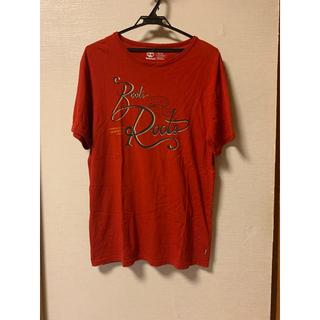 ティンバーランド(Timberland)のtimaerland Tシャツ ティンバーランド 赤(Tシャツ/カットソー(半袖/袖なし))