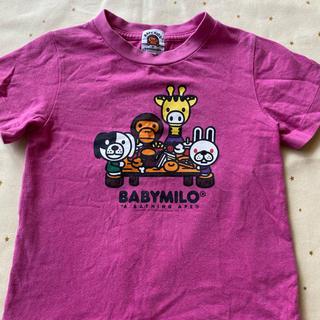 アベイシングエイプ(A BATHING APE)のBAPE 激かわアニマルTシャツ(Tシャツ/カットソー)