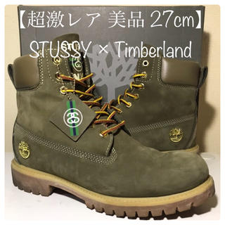 Timberland - 【Timberland 超激レア 美品】27cm STUSSY×ティンバーランド