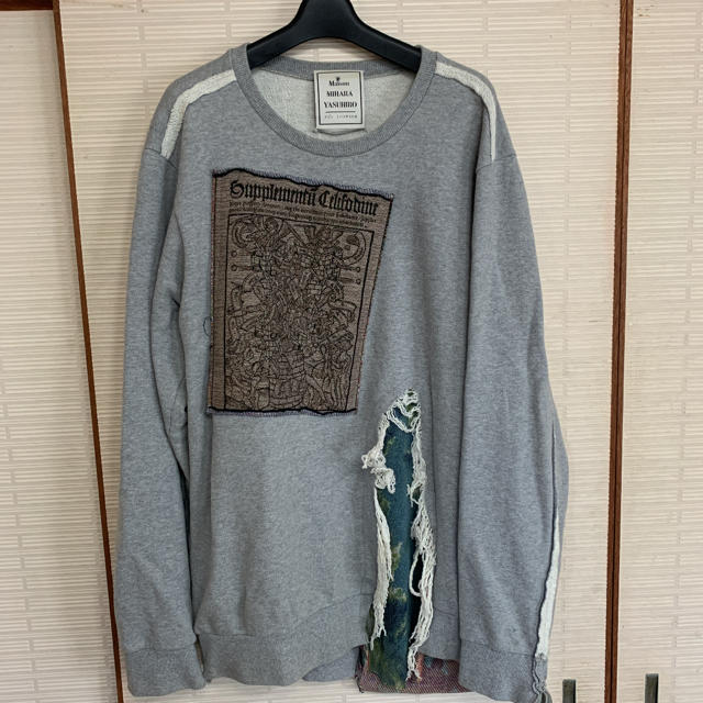 MIHARAYASUHIRO(ミハラヤスヒロ)のMAISON MIHARA YASUHIRO 16aw メンズのトップス(スウェット)の商品写真