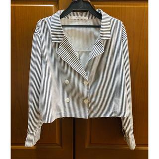 インフルエンス(Influence)のストライプシャツ(シャツ/ブラウス(長袖/七分))