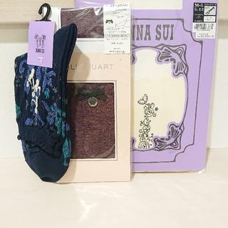 ANNA SUI -  ANNA SUI&ジルスチュアート 未使用靴下3点セット