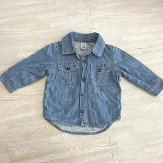 GAP - baby GAP デニムシャツ  70