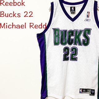 リーボック(Reebok)のNBA/リーボック/バックス/bucks/ユニフォーム/ゲームシャツ/バスケ(バスケットボール)