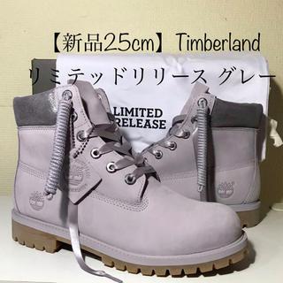 Timberland - 【超激レア‼️即完売モデル】25cm ティンバーランド リミテッドリリースグレー