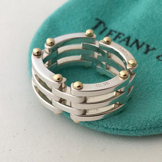ティファニー(Tiffany & Co.)のTiffany ゲートリング 20号 希少(リング(指輪))