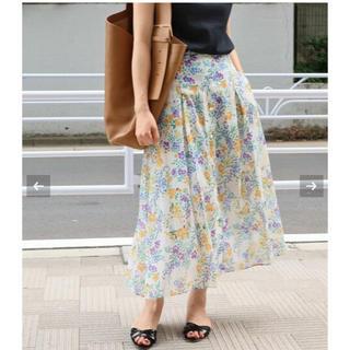 イエナ(IENA)のchee様専用 マルチフラワースカート◆ タグ付き新品(ロングスカート)