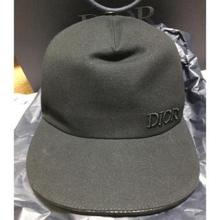 ディオール(Dior)の黒L dior ディオール メンズ ハット キャップ 帽子 20ss 定価以下(キャップ)