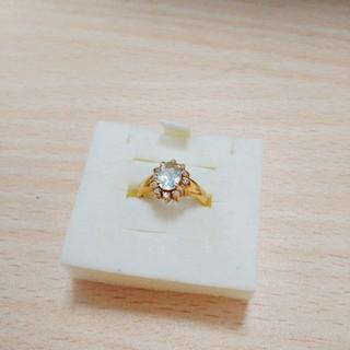 K18リング  18金 ジュエリー  色石  ダイヤ(リング(指輪))