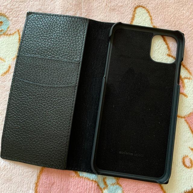 iPhone 11 Pro Max 本革ケース<ブラック>の通販 by ラマ's shop|ラクマ