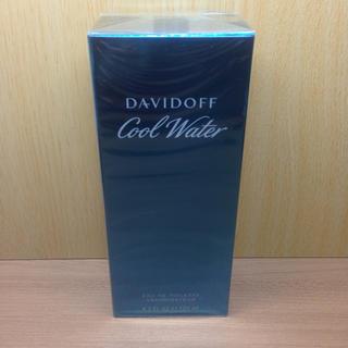 ダビドフ(DAVIDOFF)の【新品未開封】125ml ダビドフ クール ウォーター(香水(男性用))