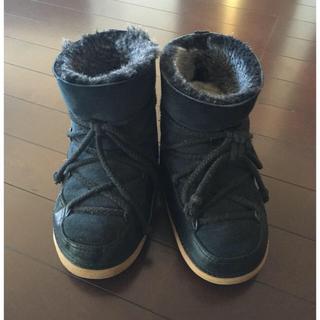 ドゥーズィエムクラス(DEUXIEME CLASSE)のIKKII スノーブーツ ムートン ドゥーズィエムクラス(ブーツ)