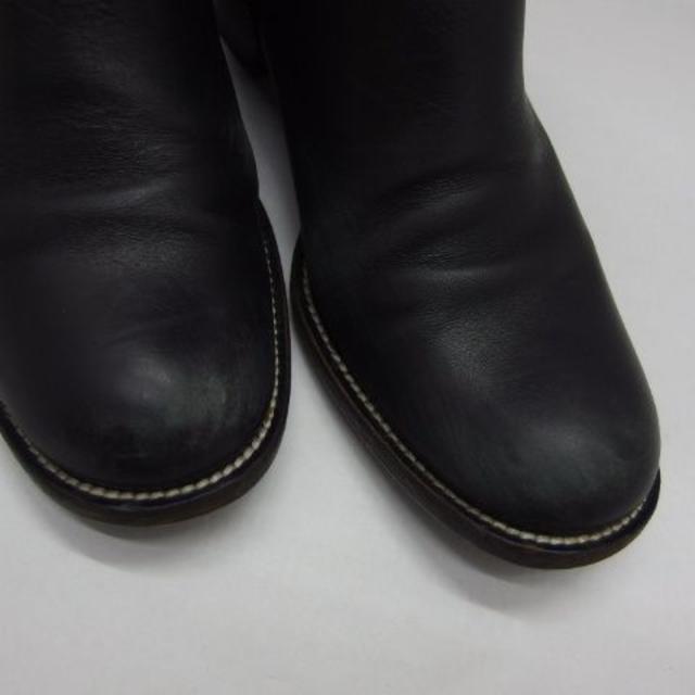 miumiu(ミュウミュウ)の♯0558+・miu miu ミュウミュウ エンジニアブーツ 黒 サイズ37 レディースの靴/シューズ(ブーツ)の商品写真
