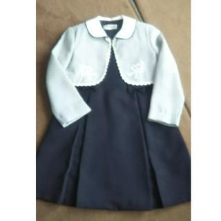 入学式 ボレロ&ワンピースセット 120(ドレス/フォーマル)