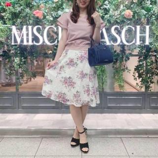 ミッシュマッシュ(MISCH MASCH)のブラウス+花柄スカート(セット/コーデ)