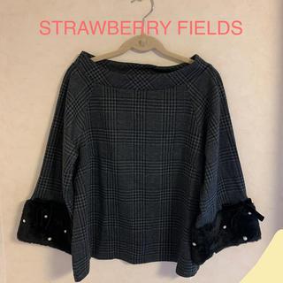 ストロベリーフィールズ(STRAWBERRY-FIELDS)のStrawberry fields ブラウス(シャツ/ブラウス(長袖/七分))