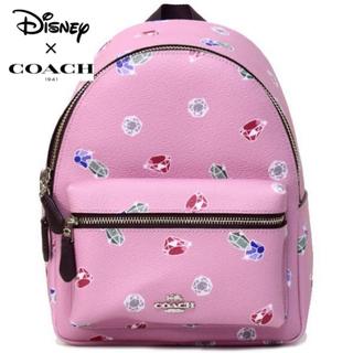 ディズニー(Disney)の日本未発売 COACHコーチ ディズニー コラボ白雪姫と7人の小人リュックサック(リュック/バックパック)