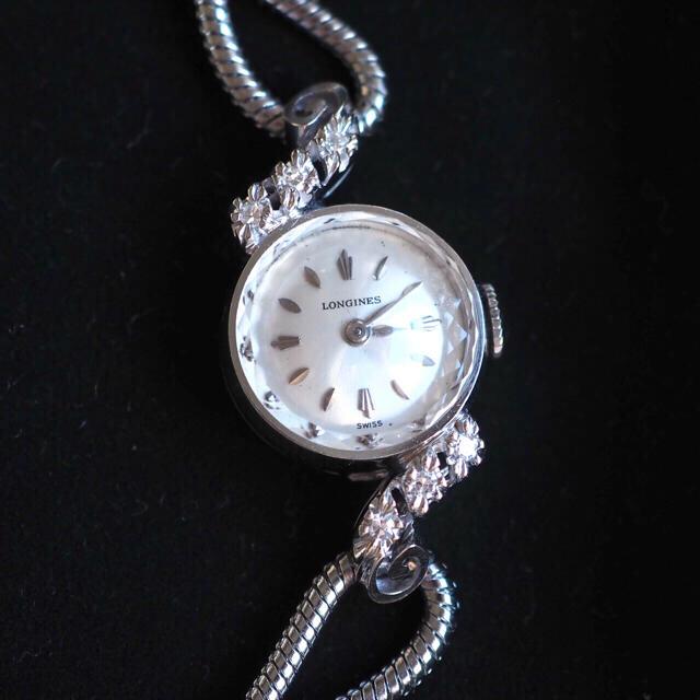ロレックス スーパー コピー 中性だ | LONGINES - 超美品✨ロンジン K14無垢 6Pダイヤ 時計✨agete オメガ ティファニーの通販