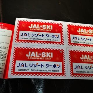 apple様専用!  JALリゾートクーポン(ウィンタースポーツ)