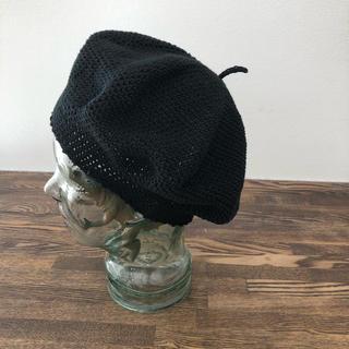 コットンベレー:ブラック(帽子)