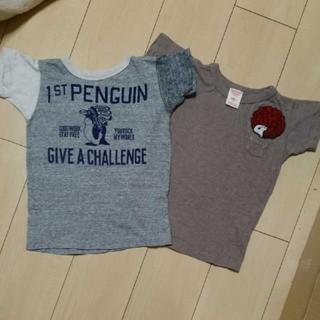 デニムダンガリー(DENIM DUNGAREE)のデニム&ダンガリー☆ペンギン ポケットアフロスヌーピーTシャツセット(Tシャツ/カットソー)