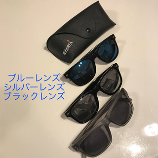 ユニクロ(UNIQLO)のサングラス3個セットプラスサングラスケース1個 目立ったダメージ無し美品(サングラス/メガネ)